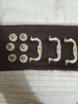 Manijas para cajones en bronce fundido