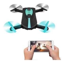 Drone Selfie Con Cámara 720p Fpv Wifi + Extras