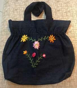Bolsas de tela artesanales