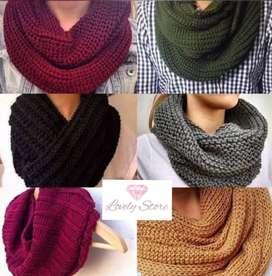 Cuelleras de lana