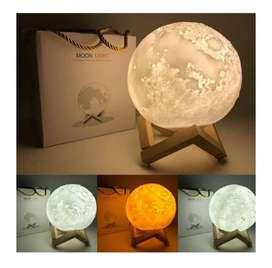 Lamapra Lunar con SUPER LUCES LED
