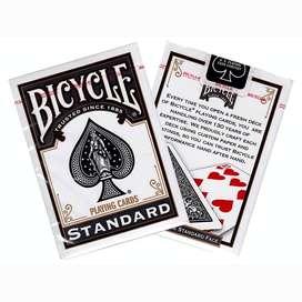 Cartas Bicycle Standard Black. Original. Por Banimported