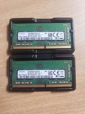 MEMORIA RAM DE 8 GIGAS - SAMSUMG DDR4 2660