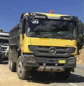 Alquiler de camión volquete de 15m3