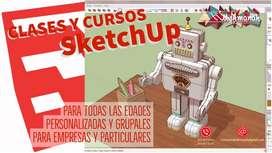 CLASES y CURSOS SketchUp