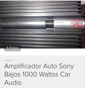 Sony Amplificador planta bajos