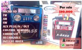 speaker portable linterna