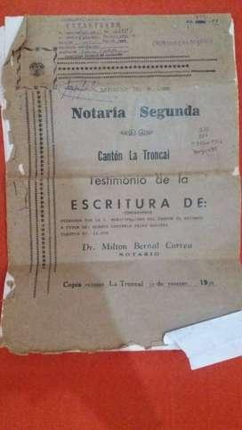 VENTA DE TERRENO CON CASA HABITABLE 150M2 PRECIO 7500