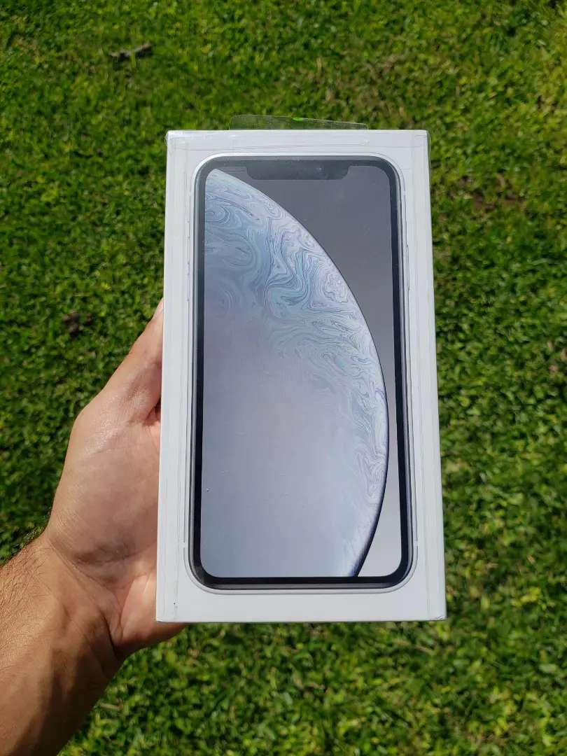 IPHONE XR 64 GB Nuevo en caja sellada (Blanco) Gtia. Apple 0
