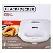 Sanduchera Black & Decker