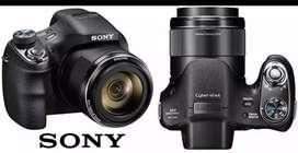 camara Sony DSC-H400 con zoom optimo de 63x