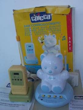 BABY CALL CONTROL CHICCO OSITO NUEVO C/CAJA Y MANUAL ITALY BEBES