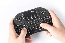 nuevos mini teclado inalambricos con touch pad para laptop, pc , tvbox
