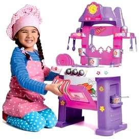 Cocina Para Niñas De Juguete Musical Con Luces Y Sonido CNB0100