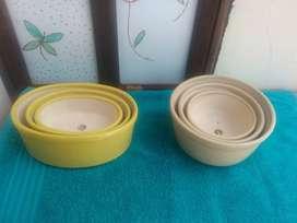 Venta de materas para Bonsai esmaltadas.