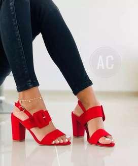 Zapato Zapatilla Tacon