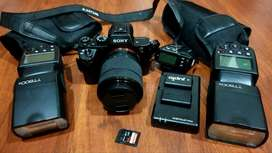 Kit Cámara Sony Alpha A7 Ii De Full Frame Con Lente +accesor