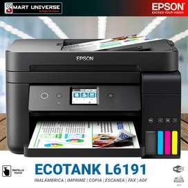 Impresora Multifuncional Epson L6191 Tinta Continua Wifi Duplex Adf FAX