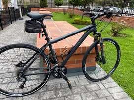 Bicicleta TREK híbrida, muy buena inversion