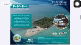 Bendita Beach en islas del rosario