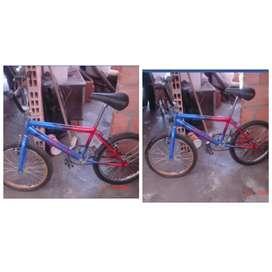 Bicicleta usada cros