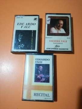 cassettes Eduardo Falu