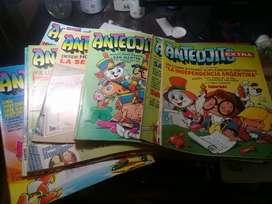 Lote de 105 Revistas Anteojito Y Billike