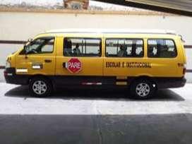 Expreso Escolar e Institucional 16 pasajeros