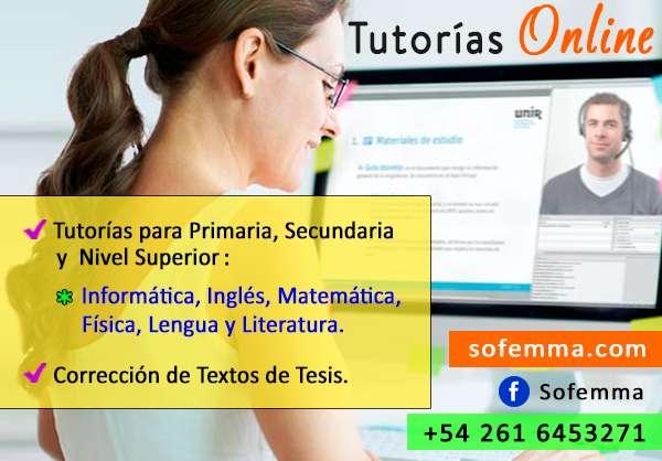 Tutorías Online de: Inglés, Informática, Lengua y Literatura 0