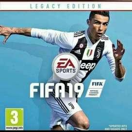 Play Station 3. Fifa 2019
