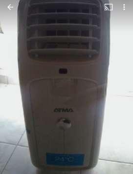 Aire portátil frío calor atma