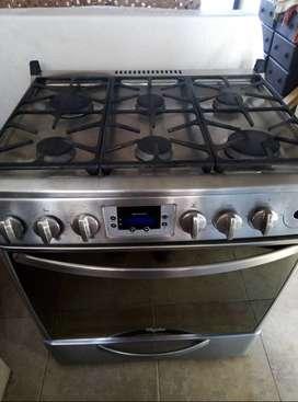 Cocina whirlpool de acero inoxidable