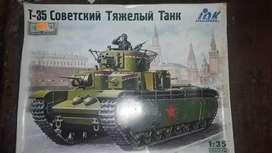 TANQUE T35 ARMAR MODELISMO 1/35