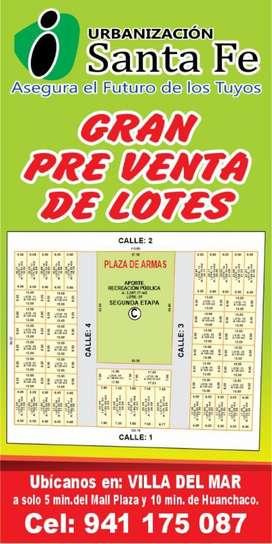 Lotes de 102 a 140 M2 en Villa Del Mar