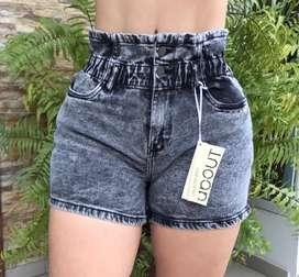 Short de jean para dama