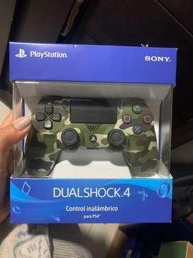Control ps4 camuflado original nuevo