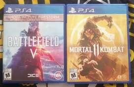 Juegos PS4 combo(ambos)
