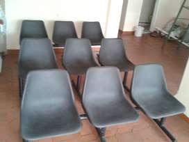 Vendo sillas para sala de espera