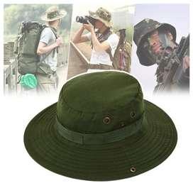 Sombrero militar camping
