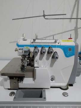 Maquina de coser plana Jack F4 y maquina Fileteadora Jack E4 5 Hilos