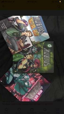 Libros de Rubius Virtual Hero 1,2,3