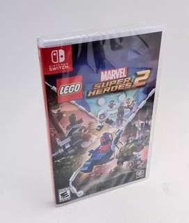 Lego Marvel Super Heroes 2 Nintendo Switch Nuevo Entrega Inmediata