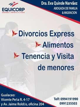 >> DIVORCIOS EXPRESS!!!