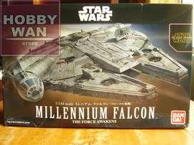 Nave Millennium Falcon 1/144 Bandai Star Wars Tfa Modelism