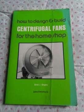 Centrifugal Fans David Gingery Libro en ingles fuerza centrifuga