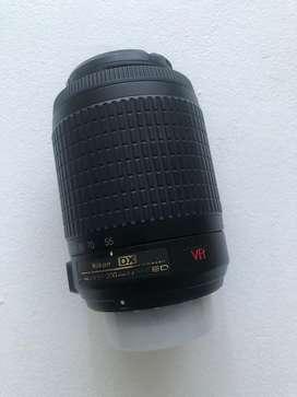 Lente Nikon Nikkor 55 - 200 Vr Zoom Ed - Serie G - montura F