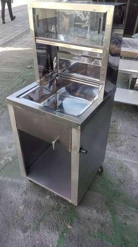 Venta estufas tamaleras naranjeros y todo lo relacionado en acero
