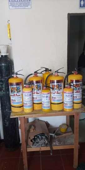 Extintores nuevos