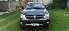 Toyota Hillux 2008 como nueva suspensión alta