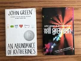 Set x2 Libros de John Green